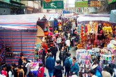 HK huye del mercado Fotos de archivo libres de regalías