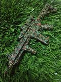 HK 416 Scale1/6. This a Weapon Model scale1/6 killer enemy Royalty Free Stock Images