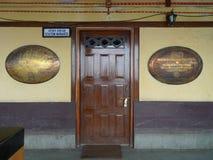 HK van de Spoorweg van Himalayan - Darjeeling (India, Azië) Royalty-vrije Stock Afbeeldingen