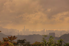 Hk view from Razor Hill Stock Image