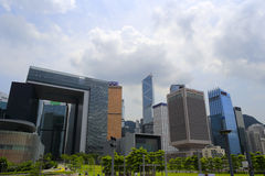 Hksar new headquarters building Royalty Free Stock Photography