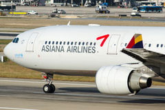 HL8258 Asiana Airlines Aerobus A330-323 Obraz Royalty Free