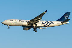 HL8212 Korean Air, libré de Airbus A330-200 SKYTEAM Foto de Stock
