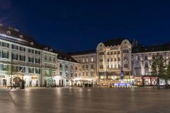 Hlavne Square in Bratislava Stock Photos