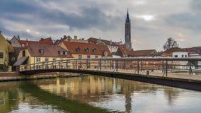 Hlensteg Landshut del ¼ de MÃ Imagen de archivo libre de regalías