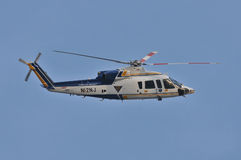 Hélicoptère de police Image libre de droits