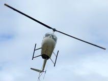 hélicoptère de vol Photo stock