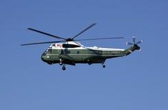 Hélicoptère présidentiel Images libres de droits