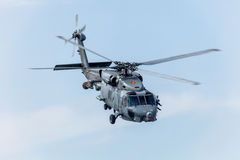 Hélicoptère SH-60B Seahawk Photographie stock