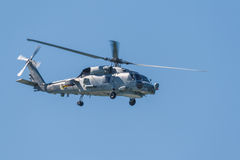 Hélicoptère SH-60B Seahawk Photo libre de droits