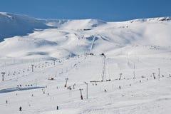 Hlidarfjall, Akureyri Imagen de archivo libre de regalías