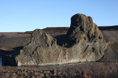 Hljoðaklettar, Iceland Royalty Free Stock Photography