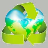 hållbar dagjordsymbol Arkivfoto