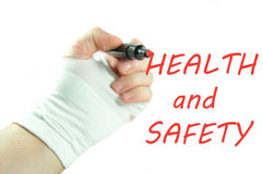 hälsosäkerhet Arkivbilder