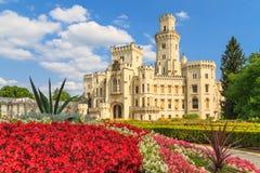 Hluboká nad Vltavou palace, Czech Republic Stock Image