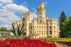 Hluboká nad Vltavou palace, Czech Republic Royalty Free Stock Images