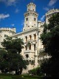 HLUBOKA城堡,捷克 免版税库存照片