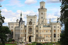 Hluboka castle Royalty Free Stock Image