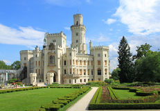 Hluboka castle Royalty Free Stock Photo
