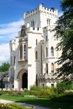 Hluboka castle, beautiful landmark in Czech Republic Stock Photo