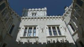 Hluboka castle stock video