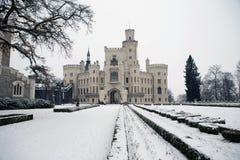 Hluboka castle Stock Images