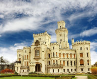 Hluboka castle Royalty Free Stock Photography