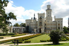 Hluboka Castle Royalty Free Stock Photography