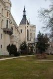 Hluboka nad Vltavou城堡。捷克3 免版税图库摄影