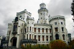 Hluboka nad Vltavou Imágenes de archivo libres de regalías