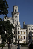 Hluboka nad Vltavou arkivbild