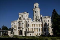 Hluboka nad Vltavou royaltyfri bild