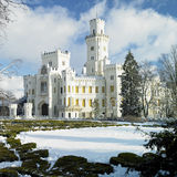 Hluboka nad Vltavou Castle Royalty Free Stock Photography