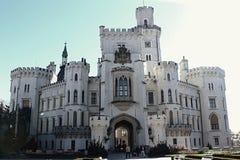 Hluboka nad Vltavou castle Royalty Free Stock Photography
