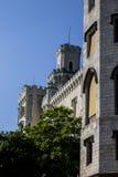 Hluboka nad Vltavou Castle Stock Photo