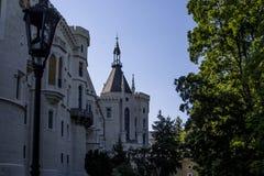Hluboka nad Vltavou Castle Stock Image