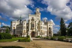 Hluboka nad Vltavou. Czech Republic. Castle Hluboka nad Vltavou. Czech Republic stock image