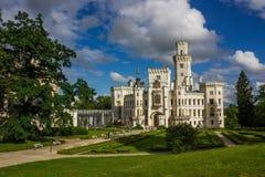 Hluboka nad Vltavou. Czech Republic. Castle Hluboka nad Vltavou. Czech Republic royalty free stock photos