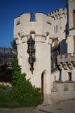 hluboka ponad vltavou zamek Obraz Royalty Free