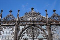 hluboka ponad vltavou zamek Obrazy Stock