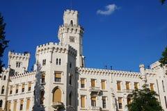 hluboka ponad vltavou zamek Zdjęcia Stock