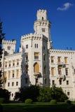 hluboka ponad vltavou zamek Fotografia Royalty Free