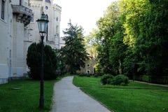 hluboka ponad vltavou zamek Zdjęcia Royalty Free