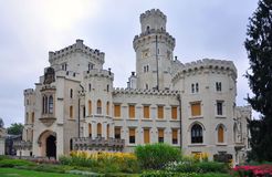 Hluboka Schloss Lizenzfreies Stockfoto