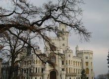 Hluboka Schloss Lizenzfreies Stockbild