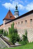 Hlyniany Gate of the Bernardine Monastery in Lviv, Ukraine Stock Photography
