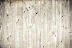 Hölzerner Plankezaun Stockbild
