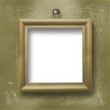 Hölzerner Rahmen für Porträtmalerei Stockfotos