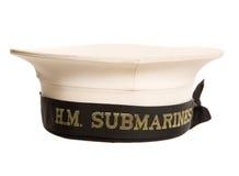 Hm łodzi podwodnych nakrętki wycinanka Zdjęcia Royalty Free