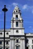HM казначейство Здание казначейства в Лондоне, Англии, Европе Стоковые Изображения
